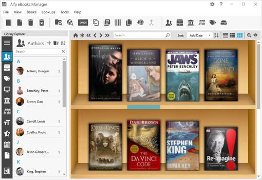 Alfa eBooks Manager 8.4.24.1 With Crack