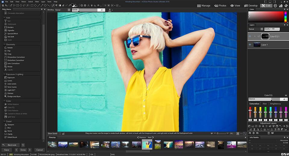 ACDSee Photo Editor 11.1 Build 105 With Crack