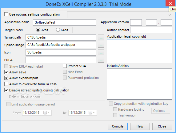 DoneEx XCell Compiler 2.7.3 With Crack Latest