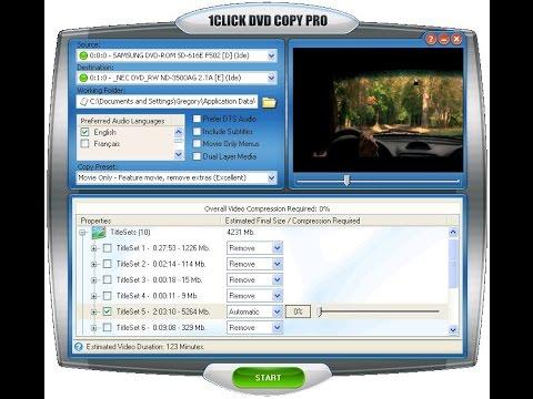 1CLICK DVD Copy Pro 5.2.1.3 With Crack