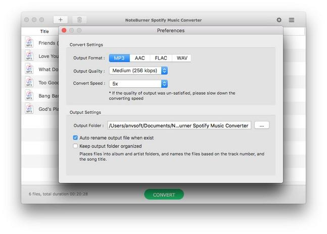 NoteBurner Spotify Music Converter 2.1.8 With Crack