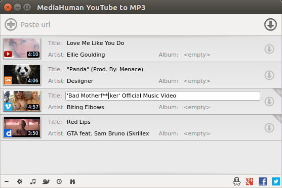 MediaHuman YouTube to MP3 3.9.9.40 With Crack
