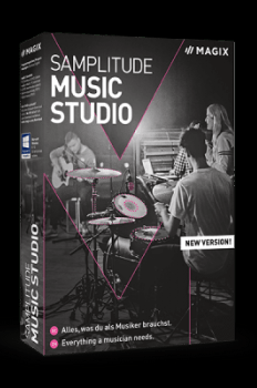 MAGIX Samplitude Music Studio 2021 v26.0 Crack